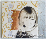 Romantic Robin (painting & print 80x80cm)