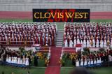 a  California high school graduation ceremony