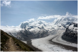 Monte Rosa und Grenzgleitscher