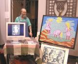Festival Of Lights, Worcester MA ~ art exhibit/sale (view 2)