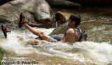 Tubing in the Creek