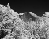 Half Dome in IR