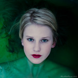 Red Green Blue (RGB) - Kalinda in Green (Ondine)