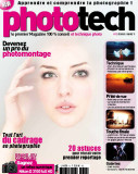 Magazine Phototech (Audrey on 1st page)