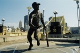 Roberto Clemente statue at the north end of the Roberto Clemente Bridge