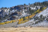 Along Highway 395 in autumn