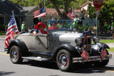Rose White & Blue parade, San Jose CA
