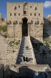 Aleppo citadel inner gateway