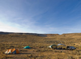 camp / chalk basin