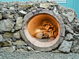 Reconstrucción de modalidad de sepultura