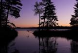 Heron at sunset- Lake Itasca harbor.jpg