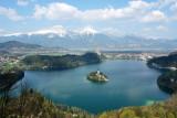 Lake Bled and Mala Osojnica. 12 Apr 2009.
