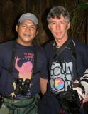 The discoverer, Rodrigo, and his cameraman