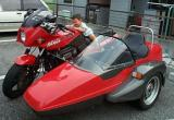 Ninja 900 with Sidecar
