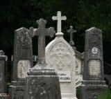 Montenegro,graveyard in Kotor