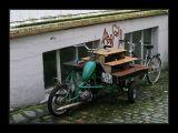 Bergen,old motorcycle