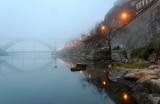 Ponte Luiz I no nevoeiro