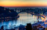 Ponte da Arrábida vista do Palácio de Cristal