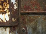The rusty door - exercise of composition