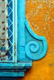 Detail in blue and yellow #2
