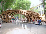 Bridge Made From Boxes