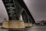 Peace Bridge In The Overcast