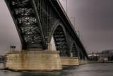 Overcast Peace Bridge