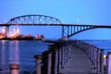 Peace Bridge From Nowak Pier