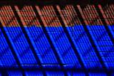 Blue Brick Shadows