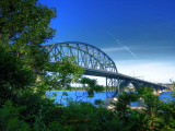 The Peace Bridge Enhanced