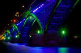 Peace Bridge At Night 3