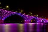 Peace Bridge in Color