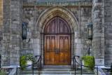 Baker Memorial Doors