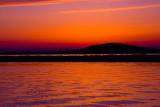 just before sunrise...