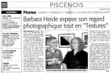 exhibition opening Médiathèque Pézenas, April 2009
