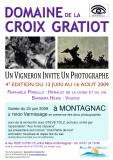 vernissage au Domaine de la Croix Gratiot