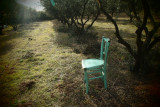 the turquoise chair 1