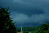 stormy grey blue