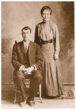 Thomas Jefferson Ross and Mary Liddie Reed Ross