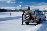 -16 degrees, Wyoming - Ice Road