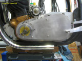 0716 Primary belt guard and ignition pickup