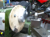 0908 Machining the gearbox cover for oil seals