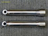 0930 Polished lower fork sliders