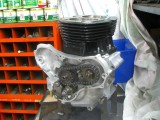 1077 Engine rebuild, new pistons, new cam chain.  850 bottom end, old style timing cover.