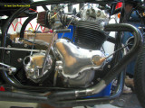 1132 Side view of timing cover with tach drive in place