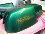 1160 Gas tank ready, sealed (http://www.hirschauto.com/), cap on, petcock on.