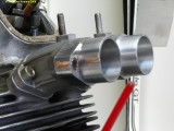 0237 making a manifold for Keihin FCR35 carburators