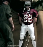 Football Players Gear Fetish Bondage BDSM Warehouse Events Party Live Streaming Shows Channels