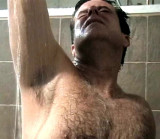 Gay Bears Pool Party Beach Parties Showering Men Rinsing Off Sandy Dirty Hairy Daddys