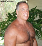 Silver Daddies Muscle Bears Husky Stocky Graying Foxes Beefy Daddy Huge Manboobs Chest Men
